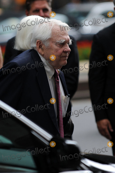 Andy Rooney, Rooney, Walter Cronkite Photo - Andy Rooney at the funeral of Walter Cronkite on July 23, 2009 in New York City. Cronkite died last Friday, July 17, at his Manhattan apartment at the age of 92.