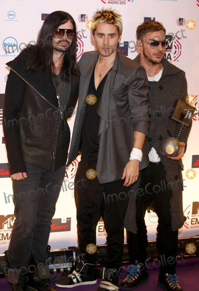 30 Seconds to Mars, Jared Leto Photo - Jared Leto and 30 Seconds To Mars at the MTV Europe Music Awards on November 7 2010 in Madrid