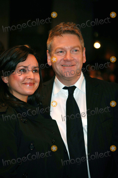 Kenneth Brannagh, Kenneth Branagh Photo - Director Kenneth Branagh and his wife Lindsay Brunnock arriving at the UK film premiere of 'Sleuth', at the Odeon West End cinema