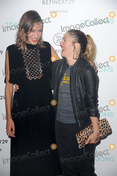 Alexa Chung, Drew Barrymore Photo - September 10, 2015 New York CityAlexa Chung and Drew Barrymore attending the Refinery29 presentation of 29Rooms, a celebration of style and culture during NYFW 2015 on September 10, 2015 in Brooklyn, New York.Credit: Kristin Callahan/ACE Tel: (646) 769 0430