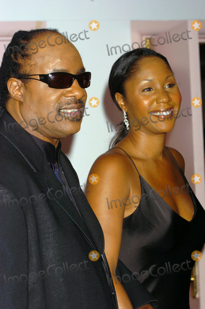 Aisha Morris, Stevie Wonder, TJ Martell, THE HILTONS Photo - Singer Stevie Wonder received an award at the T.J. Martell Foundation Awards Gala at the Hilton Hotel in New York City. He was accompanied by his daughter Aisha Morris. May 27 2004.