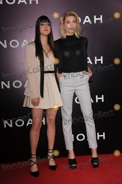 Alias, Hailey Baldwin Photo - March 26, 2014 New York CityAlia Baldwin and Hailey Baldwin attending the 'Noah' New York premiere at Ziegfeld Theatre on March 26, 2014 in New York City.