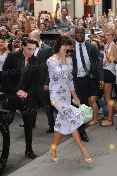Brooklyn Beckham, Victoria Beckham Photo - September 11, 2016 New York CityBrooklyn Beckham and Victoria Beckhamarriving to Balthazar in New York City on September 11, 2016.Credit: Kristin Callahan/ACE Picturestel: 646 769 0430