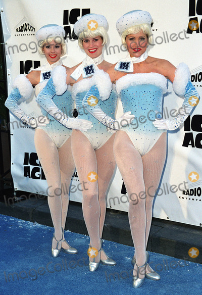 "The Radio City Rockettes Photo - The Radio City Rockettes at the world premiere of ""Ice Age"" at the Radio City Music Hall in New York. March 10, 2002.  2002 by Alecsey Boldeskul/NY Photo Press.     *PAY-PER-USE*          NY Photo Press:    phone (646) 267-6913;     e-mail: infocopyrightnyphotopress.com"