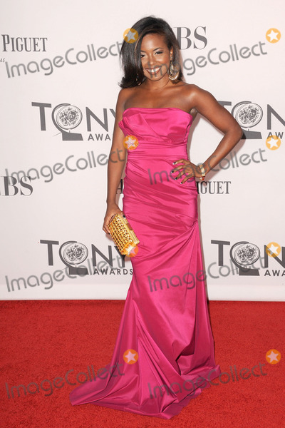 Adrienne Warren Photo - June 10, 2012. New York City. Adrienne Warren attends the 66th Annual Tony Awards at The Beacon Theatre on June 10, 2012 in New York City.