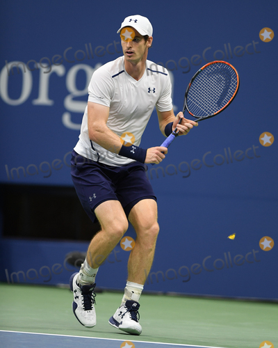 Andy Murray, Billie Jean King, Billy Jean King, Kei Nishikori Photo -   September 7 2016, New york City  Andy Murray of Great Britain plays Kei Nishikori of Japan during their Men's Singles Quarterfinal match on Day Ten of the 2016 US Open at the USTA Billie Jean King National Tennis Center on September 7, 2016 in New York City  By Line: Solar/ACE Pictures  ACE Pictures Inc Tel: 6467670430