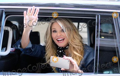 Christie Brinkley, Christy Brinkley, CHRISTI BRINKLEY Photo -   January 28 2016, New York City  Model Christie Brinkley has some fun with fans and photographers as she leaves the studios of HuffPost Live on January 28 2016 in New York City  By Line: Curtis Means/ACE Pictures   ACE Pictures, Inc. tel: 646 769 0430