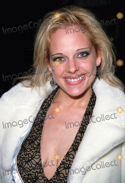 "Heather Schmid Photo - Boston's own Miss Millennium 2001, HEATHER SCHMID, attending the premiere of ""40 Days and 40 Nights"" in New York. February 26, 2002.  2002 by Alecsey Boldeskul/NY Photo Press.     *PAY-PER-USE*          NY Photo Press:    phone (646) 267-6913;     e-mail: infocopyrightnyphotopress.com"