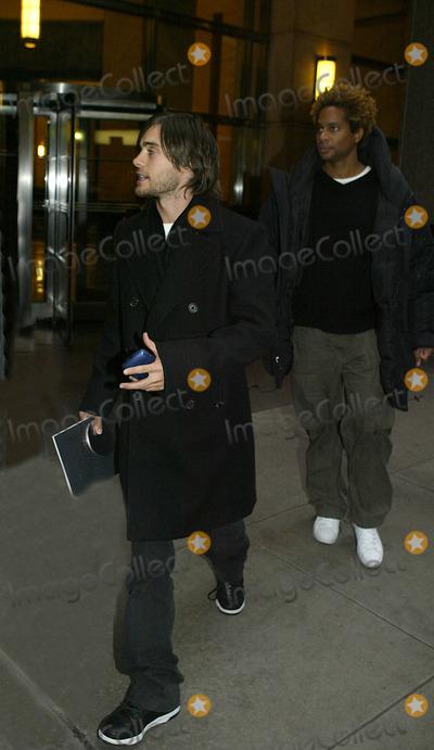 Jared Leto Photo - NEW YORK, NOVEMBER 23, 2004    Jared Leto promoting the new film Alexander in NYC.