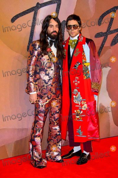 Albert Hall, Jared Leto, Alessandro Michele Photo -   December 5 2016, London  Alessandro Michele and Jared Leto arriving at The Fashion Awards 2016 at the Royal Albert Hall on December 5, 2016 in London  By Line: Famous/ACE Pictures   ACE Pictures Inc Tel: 6467670430
