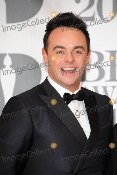 Anthony McPartlin Photo -   February 24 2016, London  Anthony McPartlin arriving at the BRIT Awards 2016 at The O2 Arena on February 24, 2016 in London, England.  By Line: Famous/ACE Pictures   ACE Pictures, Inc. tel: 646 769 0430