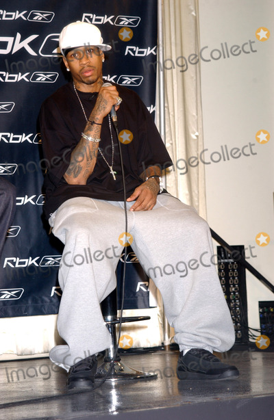 Allen Iverson Photo - NEW YORK, OCTOBER 17, 2005    Allen Iverson at the RBK Answer IX Sneaker Launch to celebrate ten years of Allen Iverson.