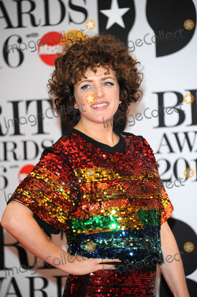 Annie Mac Photo -   February 24 2016, London  Annie Mac arriving at the BRIT Awards 2016 at The O2 Arena on February 24, 2016 in London, England.  By Line: Famous/ACE Pictures   ACE Pictures, Inc. tel: 646 769 0430