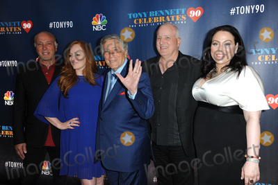 Antonia Bennett, Dae Bennett, Tony Bennett, Danny Bennett Photo - 