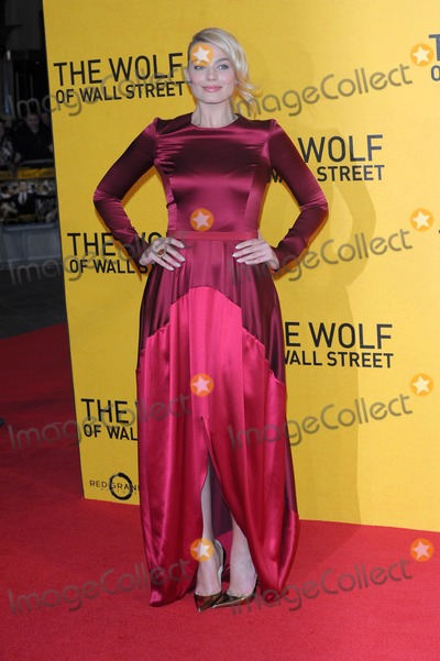 Margot Robbie Photo - January 9 2014, London  Margot Robbie arriving at the UK Premiere of The Wolf of Wall Street at the Odeon Leicester Square on January 9, 2014 in London, England