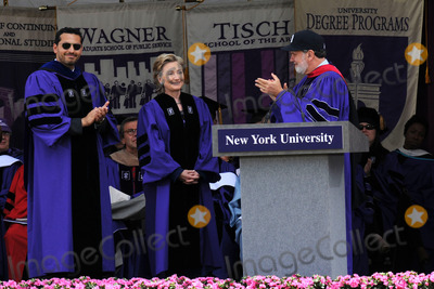 Hillary Clinton, The Bronx Photo - Secretary of State Hillary Clinton addressed New York University's graduating class of 2009 and received a Doctor of Laws degree at NYU's 177th Commencement ceremony at Yankee Stadium on May 13, 2009 in the Bronx, New York City.