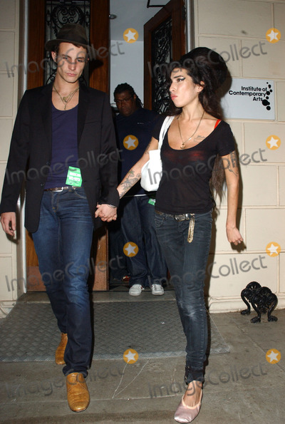 Amy Winehouse, Blake Fielder Civil, Blake Fielder-Civil Photo - Singer Amy Winehouse has been found dead in her flat in North London at the age of 27 on July 23 2011 in London