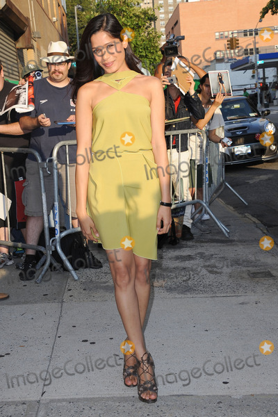 Freida Pinto, Jon Stewart Photo - Freida Pinto tapes the The Daily Show with Jon Stewart on August 1, 2011 in New York City