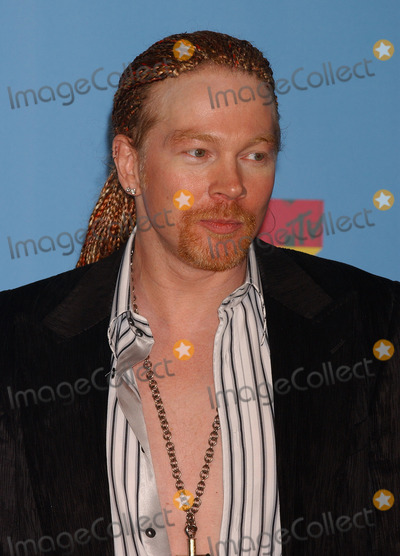 AXEL ROSE Photo - Press Room arrivals for the 2006 MTV Video Music awards 2006 at the Radio City Music Hall.