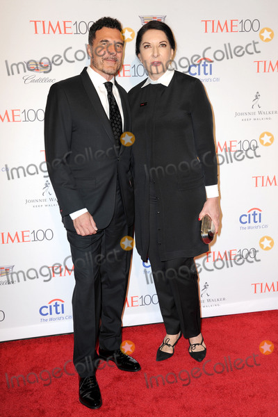 Andre Balazs, Marina Abramovic, Andr Balazs, André Balazs Photo - April 26, 2016 New York CityAndr Balazs and Marina Abramovic  attending arrivals for 2016 Time 100 Gala, Time's Most Influential People In The World at Jazz At Lincoln Center at the Times Warner Center on April 26, 2016 in New York City.Credit: Kristin Callahan/ACE PicturesACE Pictures, Inc.tel: 646 769 0430