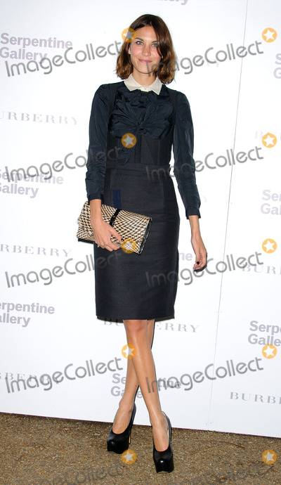 Alexa Chung Photo - Alexa Chung at the Burberry Serpentine Gallery summer party on June 28 2011 in London