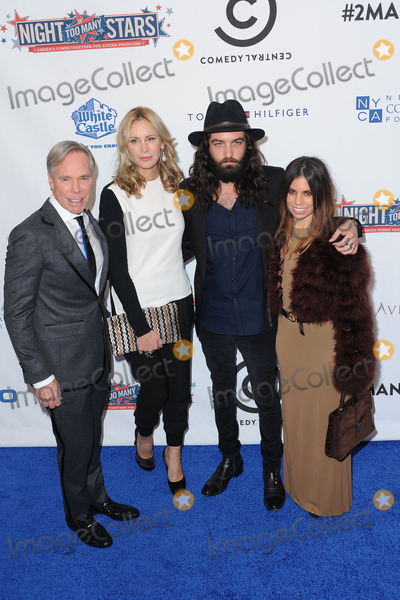 Ally Hilfiger, Dee Hilfiger, Tommy Hilfiger, Steve Hash Photo - October 13, 2012. New York City. Tommy Hilfiger, Dee Hilfiger,  Steve Hash and Ally Hilfiger attend Comedy Central's Night of Too Many Stars: America Comes Together for Autism Programs at The Beacon Theatre on October 13, 2012 in New York City.