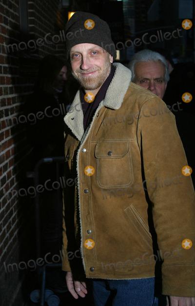 "Chris Elliott, David Letterman, Ed Sullivan Photo - Actor Chris Elliott arrives at Ed Sullivan Theater to make an appearance on ""The Late Show With David Letterman."" New York, January 7, 2003."