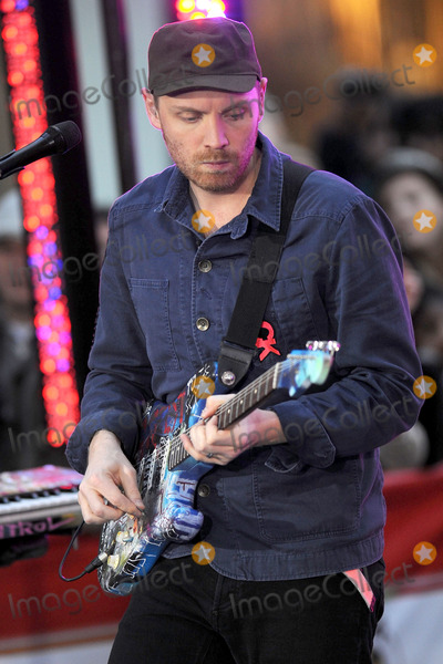 Jonny Buckland, Coldplay Photo - Coldplay performs on NBC's 'Today' at Rockefeller Center on October 21, 2011 in New York City