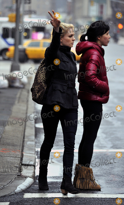 Anna Paquin, Anna Paquin-, Anna Maria Perez de Taglé Photo - December 5 2013, New York City  Actress Anna Paquin leaves her East Village apartment on December 5 2013 in New York City