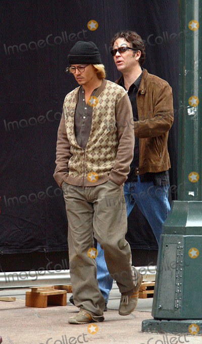 Photos And Pictures Johnny Depp And Timothy Hutton Filming