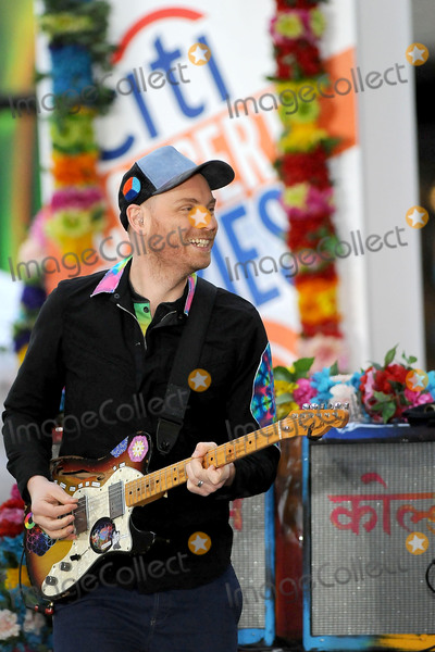 Coldplay, Jonny Buckland Photo - 