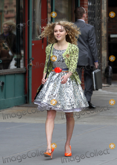 AnnaSohpia Robb, Anna Sophia Robb, Annasophia Robb, Anna Maria Perez de Taglé Photo - April 1 2012, New York City