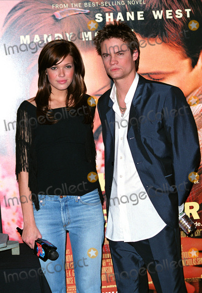 Photos And Pictures World Syndication Rights Mandy Moore And Shane West Promoting Their Latest Movie A Walk To Remember At Planet Hollywood In Times Square New York January 17
