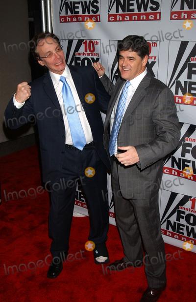 Roger Ailes, Rupert Murdoch, Sean Hannity, ALAN COLMES Photo - Sean Hannity and Alan Colmes attend the Fox News Channel's 10th Anniversary VIP Party hosted by Rupert Murdoch and Roger Ailes.