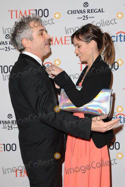 Alfonso Cuaron, Sheherazade Goldsmith, Alfonso André Photo - April 29, 2014 New York City