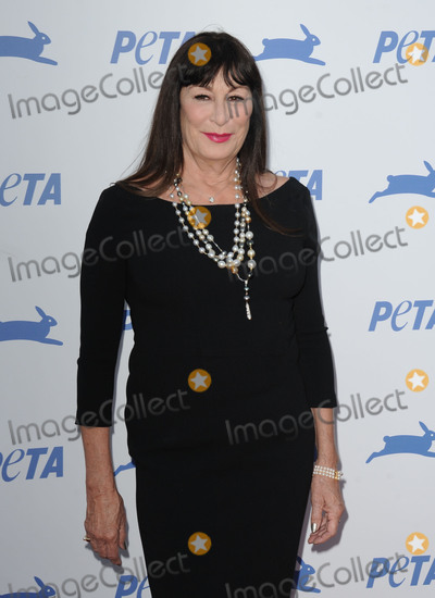 Anjelica Huston Photo -   September 30 2015, LA  Anjelica Huston arriving at PETA's 35th Anniversary Party at the Hollywood Palladium on September 30, 2015 in Los Angeles, California.   By Line: Peter West/ACE Pictures   ACE Pictures, Inc. tel: 646 769 0430