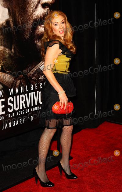 Amanda Rowan Photo - December 3 2013, New York City  Amanda Rowan arriving at the 'Lone Survivor' New York premiere at Ziegfeld Theater on December 3, 2013 in New York City.