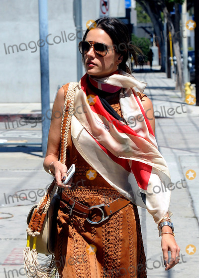 ALLESANDRA AMBROSIO, Alessandra Ambrosio Photo -   June 16 2016, LA  Model Alessandra Ambrosio rocks a BoHo chic outfit on June 16 2016 in LA  By Line: Solar/ACE Pictures  ACE Pictures Inc Tel: 6467670430