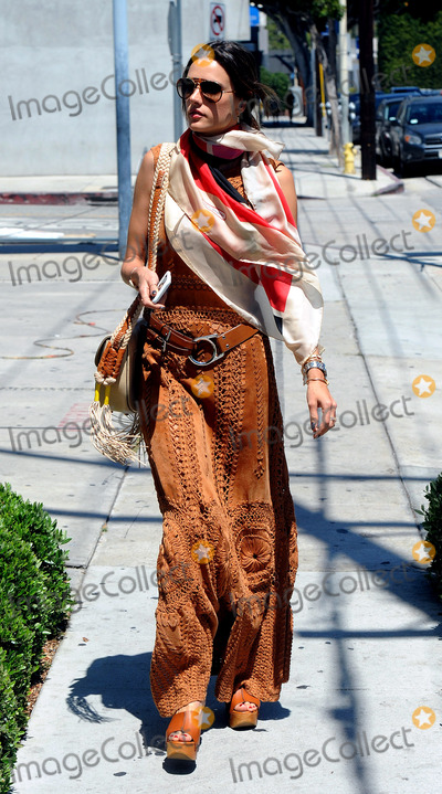 ALLESANDRA AMBROSIO, Alessandra Ambrosio Photo -   June 16 2016, LA  Model Alessandra Ambrosio rocks a BoHo chic outfit on June 16 2016 in LA  By Line: Solar/ACE Pictures  ACE Pictures Inc Tel: 6467670430