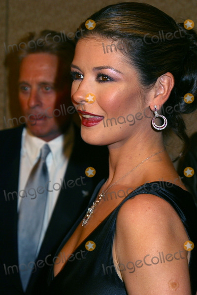 Catherine Zeta-Jones, Christopher Reeve, Michael Douglas, Michael Bublé, Michael Paré Photo - 12th Annual Magical Birthday Bash to benefit the Christopher Reeve Paralysis Foundation at the Marriott Marquis. Pictured are: Catherine Zeta-Jones with husband Michael Douglas. New York, September 25, 2002.