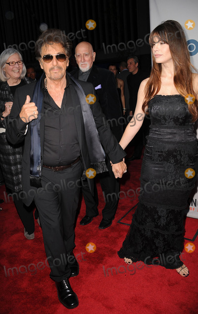 Al Pacino, Lucila Sola, Jackée, Lucila Solá Photo - Actor Al Pacino and girlfriend Lucila Sola arriving at the HBO Film's 'You Don't Know Jack' premiere at Ziegfeld Theatre on April 14, 2010 in New York City.