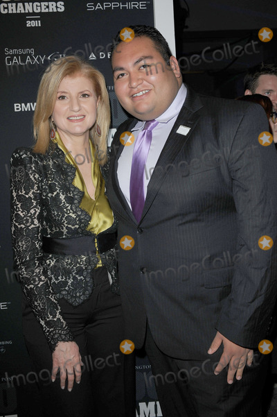 Arianna Huffington, Daniel Hernandez Photo - Arianna Huffington  and Daniel Hernandez attend the The Huffington Post and AOL 2011 Game Changers Awards Ceremony at Skylight Soho on October 18, 2011 in New York City