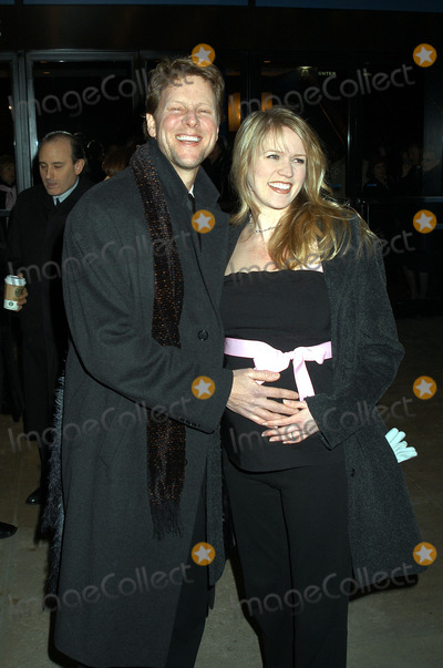 Alan Campbell, Kennedy Photo - ALAN CAMPBELL and LAURA KENNEDY at the opening night of 'Fiddler on the Roof' on Broadway. New York, February 26, 2004.