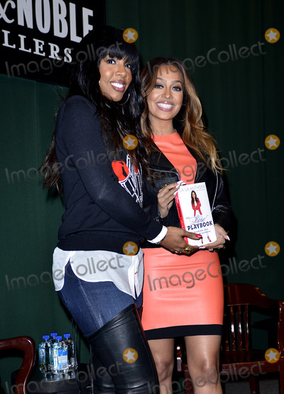 Kelly Rowland, Kelly Rowlands, La La, Anthony Kelly, Book Signing Photo - January 28 2014, New York City  Kelly Rowland and La La Anthony attend the book signing for Anthony's book 'The Love Playbook: Rules For Love, Sex And Happiness' at Barnes & Noble Tribeca on January 28, 2014 in New York City.