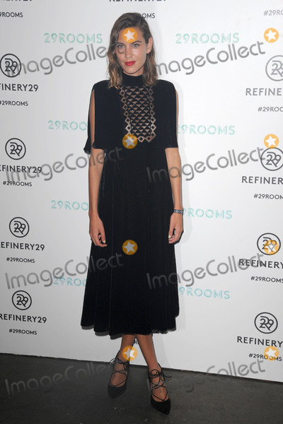 Alexa Chung Photo - September 10, 2015 New York CityAlexa Chung attending the Refinery29 presentation of 29Rooms, a celebration of style and culture during NYFW 2015 on September 10, 2015 in Brooklyn, New York.Credit: Kristin Callahan/ACE Tel: (646) 769 0430