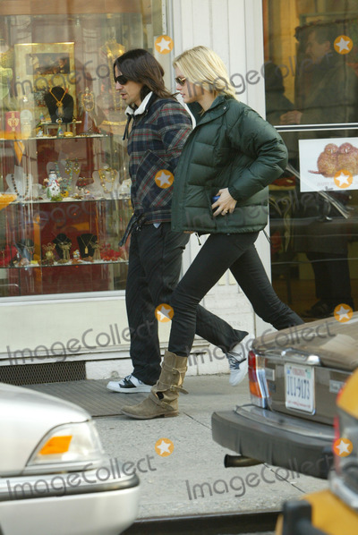 ANTHONY KEDIS, Chilli, Pepper Photo - Anthony Kedis of the Red Hot Chilly Peppers out walking with a friend in Soho, Manhattan.