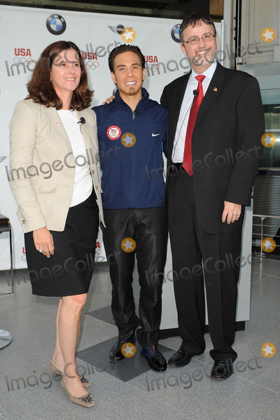 The Unit, LISA BAIRD, JACK PITNEY, Apolo Anton Ohno, Jackée Photo - Short Track Speedskater Apolo Anton Ohno attends the announcement of a new multi-year partnership between BMW Group & the United States Olympic Committee at BMW of Manhattan on July 26, 2010 in New York City