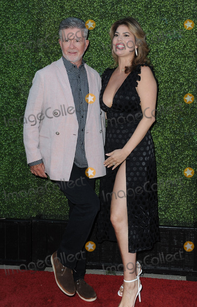 Alan Thicke, Tanya Callau Photo -   August 10 2016, New York City  Alan Thicke and Tanya Callau arriving at the CBS, CW, Showtime Summer TCA Party at the Pacific Design Center on August 10, 2016 in West Hollywood, California.  By Line: Peter West/ACE Pictures   ACE Pictures Inc Tel: 6467670430