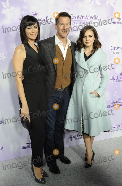 Bailee Madison, Catherine Bell, James Denton Photo -   January 8 2015, Pasadena  (L_R) Catherine Bell, James Denton and Bailee Madison arriving at the Hallmark Channel and Hallmark Movies and Mysteries Winter 2016 TCA Press Tour at Tournament House on January 8, 2016 in Pasadena, California.  By Line: Peter West/ACE Pictures   ACE Pictures, Inc. tel: 646 769 0430