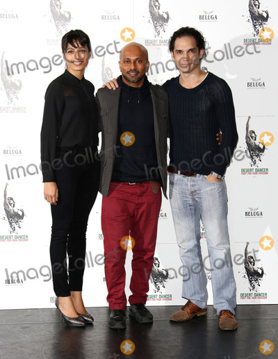 Akram Khan, Freida Pinto, Reece Ritchie Photo - October 9 2012, London